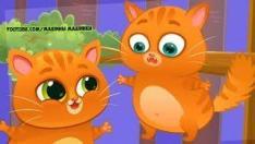 Мультик про Котика Bubbu #17 Играем в котенка Бубу - виртуальный питомец! Мультфильмы для детей