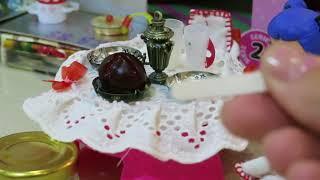 #едадлякукол# ЕДА ДЛЯ КУКОЛ# КАК СДЕЛАТЬ ТОРТ И КОТЛЕТКИ#Food for dolls miniature