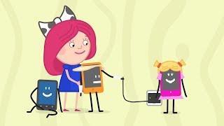 Мультики - Смарта и Чудо-сумка - Калки сломался - Развивающие мультфильмы