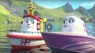 Мультфильмы про кораблик Элаяс. Развивающий мультик. Большой улов