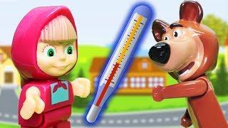 Мультфильмы с игрушками. Не болеть! Про доктора мультик для детей новые серии