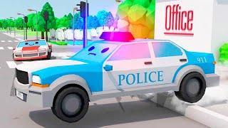 Мультики про машинки - Полицейские Машинки и СКОРОСТНАЯ ГОНКА - Новый Сборник Мультфильмы для детей