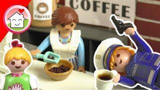 Playmobil Polizei Film deutsch - Der Kaffeeraub - Geschichte für Kinder von Familie Hauser
