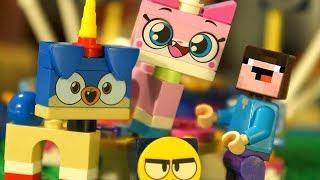 Юникитти и Лего НУБик Майнкрафт - LEGO Unikitty - Мультики Все Серии Подряд Мультфильмы ИГРУШКИ