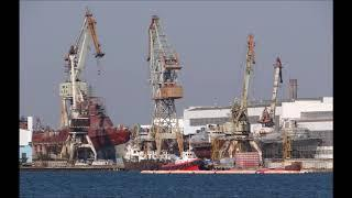 Строительство кораблей для ВМФ России на судостроительном заводе  Залив   в Керчи