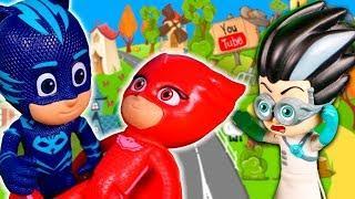 Мультик Герои в масках — Время Быть Героем. Игрушки Робокар Поли. Мультфильмы с игрушками для детей