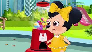 Микки Маус И Минни Маус Борются За Гигантский Кремовый Торт С Тараканами! Мультфильм Микки Маус