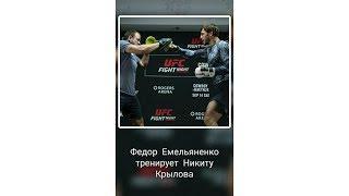 Федор Емельяненко тренирует Никиту Крылова. Юмор в ММА