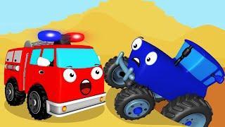 Мультики про Синий Трактор - Новые Мультфильмы для Детей про Машинки