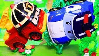 Мультфильмы с игрушками Робокар Поли и его друзья. Какая машинка самая важная?