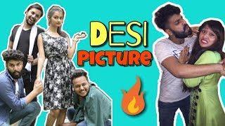 DESI PICTURE || देसी कॉमेडी फिल्म || NEW COMEDY FILM 2018 || HURRRH || SHIVAM DIWAKAR ||
