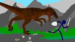 Мини анимация в рисуем мультфильмы 2 продинозавра