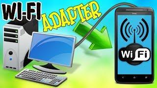 Как сделать из телефона WI-FI АДАПТЕР  Как подключить Wi-FI на стационарном ПК через телефон