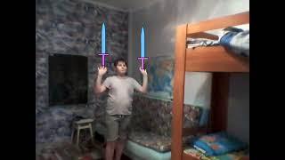 Эффект мечника в power director и рисуеи мультфильмы 2.