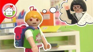 Playmobil Film deutsch - Neue Lehrerin? Back to school - Spielzeug Video für Kinder - Familie Hauser