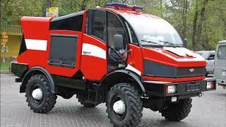 Силант -  универсальный грузовик для бездорожья Русскмй брат УНИМОГА