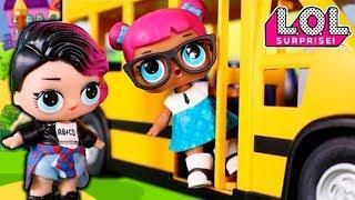 Мультики для девочек – Лол Прогуляла Школу! Мультфильмы Для Детей С Куклами Лол Сюрприз
