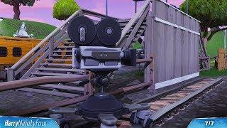 Fortnite Battle Royale - All Film Cameras Locations Guide (Season 4 Challenge)
