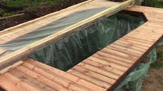 Самодельный тент для бассейна - как сделать бассейн своими руками!