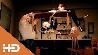 Лютая Ссора На Ужин ► Суперсемейка (2004) Лучшие Мультфильмы Для Детей