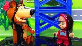 Мультики для детей с игрушками Маша и Медведь –  Подмена! Новые мультфильмы