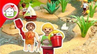 Playmobil Film deutsch - Am Wasserspielplatz mit Familie Hauser - Geschichte für Kinder