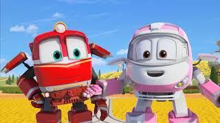 Роботы-Поезда (Беги, Люка, беги! и Хосе спасатель!) 2 сезон | Мультфильмы для детей