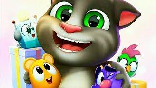 МОЙ ГОВОРЯЩИЙ ТОМ 2 #2 НОВАЯ ДЕТСКАЯ ИГРА про котика ТОМА и КОШКУ АНЖЕЛУ мультик игра для детей
