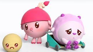 Малышарики -  Кукла - серия 152 - Обучающие мультфильмы для малышей - учимся просить прощения
