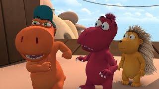 Мультики - Кокоша, Маленький Дракон - Сокровище - Детские мультфильмы - Серия 25