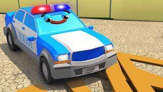 Мультики про машинки - Полицейская Машина и Гоночная Машинка МЕГА ГОНКИ - Мультфильмы для детей