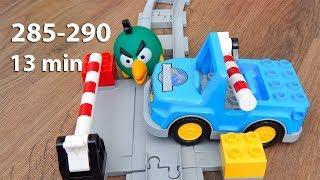 Мультики про машинки все серии 285-290 Город Машинок Мультфильмы для детей видео mirglory