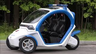 Концерн Калашников представил электромобили и электромотоциклы для полиции Москвы