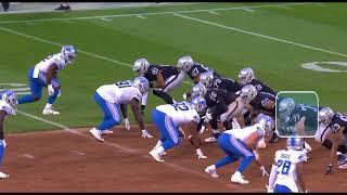 Studying Kolton Miller's First NFL Game | Oakland Raiders Film Breakdown