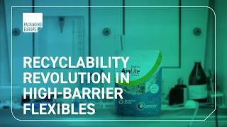 Revolutionary Amcor recyclable high-barrier packaging film