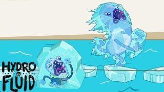 ГИДРО И ЖИДКОСТЬ | Deep Freeze ★ Мультфильмы для детей | WildBrai