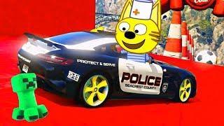 Гонки на грузовиках Кота Барбоса ! #Машинки мультики для мальчиков все серии - Мультфильмы для детей