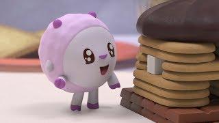 Малышарики - Сладкий дом - серия 128 - Обучающие мультфильмы для малышей - о семье