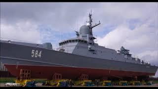 Новый зенитный комплекс Панцирь М установили на корабль проекта 22800