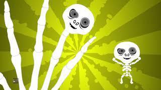 скелет палец семья | русский мультфильмы для детей | Skeleton Finger Family | Booya Russia