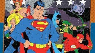 Юная лига справедливости. Лучшие мультфильмы.