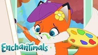 Enchantimals Россия   Забавные истории: Идеальный портрет   мультфильмы для детей