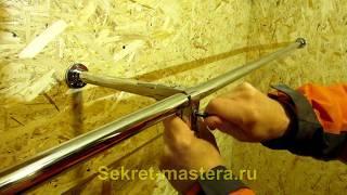 Как сделать вешалку в гардероб своими руками из труб и соединителей системы Джокер