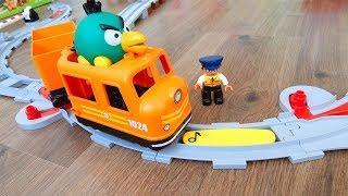 Поезда мультики про машинки игрушки. Город Машинок 285 - Управлять. Мультфильмы для детей видео