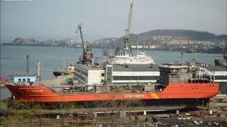 Дальзавод передал новый танкер Роснефти