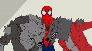 Marvel | Человек паук 2017 | сезон 1 серия 12 - Луна на Хэллоуин