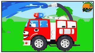 Мультики про Машинки для детей - Пожарные Машины в городе! Новые Мультфильмы 2018