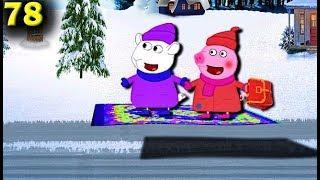 Мультики Свинка Пеппа и Сьюзи летают на ковре   самолете Мультфильмы для детей на русском