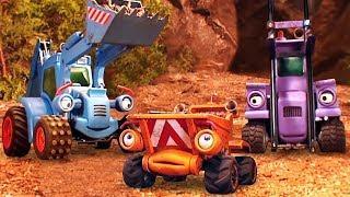Лучшие мультфильмы для детей про рабочие машины. Стройка. Добрый мультик все серии подряд