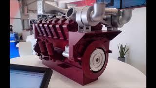 12ДМ 185   новый российский двигатель для гигантских грузовиков БЕЛАЗ